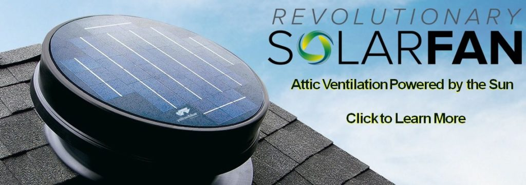 YellowBlue Solar Attic Fan